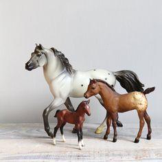 Vintage Breyer Horse Collection via. Etsy