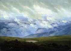 Caspar David Friedrich  Drifting Clouds, 1820