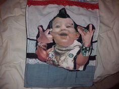 bolso niño punk by lollypopbolsos on Etsy, €20.00