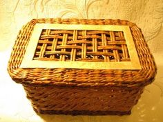 DIY How to Make a Basket from Recycled Newspaper - Handmade Basket Made of Newspapers - tutorial - YouTube