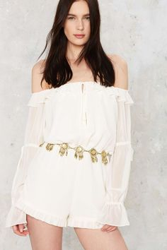 Nasty Gal Golden State of Mind Chain Belt on ShopStyle
