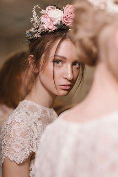 Romantic Bridal Look from Katya Katya Shehurina