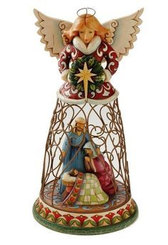 Christmas Angel with Wire Skirt by Jim Shore 4012660 NIB | eBay