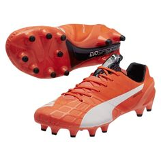reputable site ffd55 41ce1 The Puma evoSPEED soccer cleats look to bring extra speed to your game.