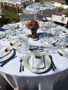 Table Settings, Events, Place Settings