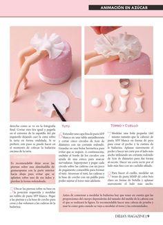 Fondant ballerina by Carlos Lischetti