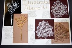 Art Sketchbook - an exploration of natural form through mono printing; Sketchbook Layout, Textiles Sketchbook, Gcse Art Sketchbook, Sketchbook Inspiration, Art Sketches, Art Drawings, Karl Blossfeldt, Natural Form Art, Art Folder