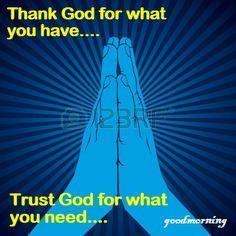 need u god