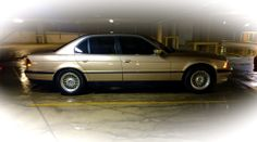 1998 BMW 740i finally clean after a nasty March, 2014, sleet and snow storm.  Like new again!
