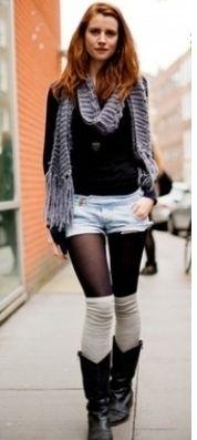 組み合わせも様々であたたかく着こなせる♡レッグウォーマーを取り入れたコーデ☆スタイル・ファッション・着こなしの参考に♪