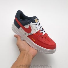 Nike Air Force One Af1 Red White Culture Shoes Couple 315123 126 2018 Online