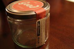 label on jar