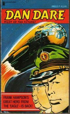 vintage magazine covers | Vintage dan dare spaceship builder in original box | Comic Strips ...
