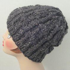 Twisted Rib Hat | AllFreeKnitting.com
