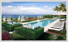 Ocean House Pool | Miami Beach, FL | Condo.com   See more here: http://www.condo.com/Condo-South5th-41858553