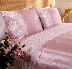 Luxury Bed Sheets, Luxury Bedding, Satin Bedding, New Beds, Bed Covers, Pillow Set, Home Bedroom, Home Textile, Bed Spreads