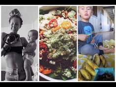 What I Ate Today as a Breastfeeding Mom, Raw Vegan - YouTube