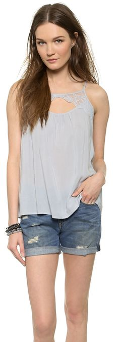 BB Dakota Reeve Scallop Lace Camisole - $13.50