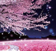さがみ湖イルミリオン -夜桜イルミネーション