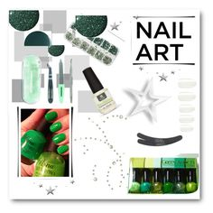"""Nail Art"" by anabritt on Polyvore featuring beleza, Tweezerman, Red Carpet Manicure, eylure, Zoya, Elegant Touch e Deborah Lippmann"