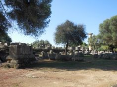 Olympia, Greece site of the first Olympics 2014