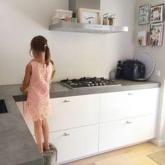 keuken wit beton - Google zoeken