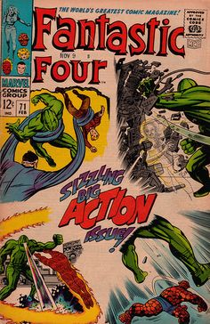 Fantastic Four 71 - Stan Lee and Jack Kirby