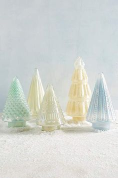Snowglint Trees by anthropologie.com