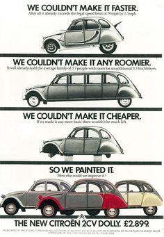Citroën 2CV adverts - Album on Imgur