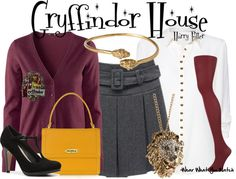 Inspired by Hogwarts Gryffindor House from the Harry Potter franchise.