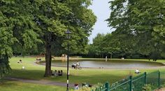 Victoria Park  Boating Pond, Newbury