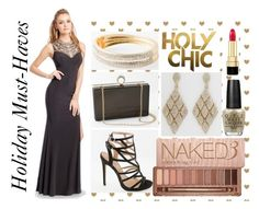 """""""Chic For The Holidays!"""" by camillelavie ❤ liked on Polyvore featuring Urban Decay, OPI and Dolce&Gabbana"""