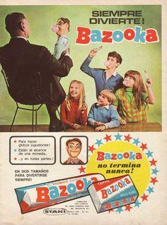 El muñeco con chicle probablemente te aparecerá hoy en tus pesadillas... MIEDO. Vintage Advertising Posters, Old Advertisements, Vintage Posters, Advertising History, Vintage Labels, Vintage Ads, Vintage Images, Propaganda Coca Cola, Nostalgia