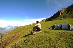 The fun doubles when you get to enjoy #trekking and #camping together.