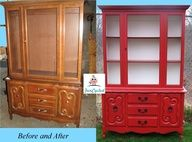 A how to paint furniture post
