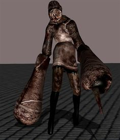 silent hill 3 closer model by undeadmiko