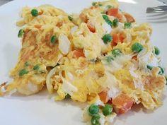 Zöldséges fogyókúrás rántotta Pasta Salad, Potato Salad, Potatoes, Eat, Ethnic Recipes, Foods, Bulgur, Crab Pasta Salad, Food Food