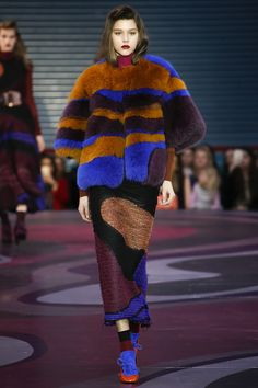 Roksanda Fall 2015 Fashion Show