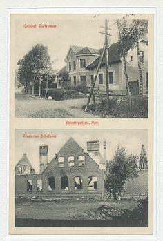 Schwirgallen, Gutshof, zerstörtes Schulhaus