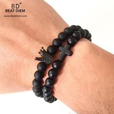 Exhilarating Jewelry And The Darkside Fashionable Gothic Jewelry Ideas. Astonishing Jewelry And The Darkside Fashionable Gothic Jewelry Ideas. Braided Bracelets, Handmade Bracelets, Bracelets For Men, Fashion Bracelets, Fashion Jewelry, Bracelet Men, Black Jewelry, Gothic Jewelry, Beaded Jewelry