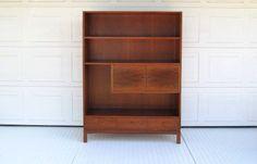 Mid Century Wall Unit,  Shelves, Cabinet by DaveysVintage on Etsy https://www.etsy.com/listing/231296399/mid-century-wall-unit-shelves-cabinet