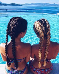 friends that braid together, stay together