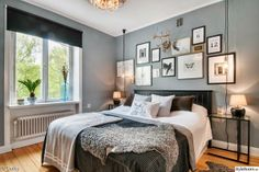 Master bedroom decor tips; In order to include a flair of prestige to a space they are utilized for the elegant look. Master Bedroom Interior, Home Bedroom, Bedroom Decor, Uppsala, Bedroom Styles, Interior Design, Decoration, Furniture, Home Decor