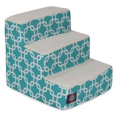 Majestic Pet Teal Links Pet Stairs >>> New and awesome dog product awaits you, Read it now  : Dog Beds and Furniture