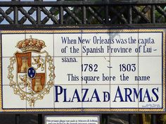 #frenchquarter #neworleans #tile #sign #history #plazadarmasnola by tagmmr