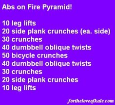 abs on fire pyramid