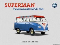 Les Combis VolksWagen Spiderman Superman et Batman