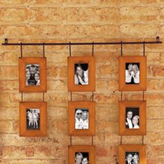 such a cute way to display photos!!!