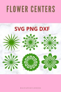 This set of 6 paper flower centers are awesome for Cricut and Silhouette crafters. Printable PDF is included. Make your paper flowers crafts at saving cost! #paperflowercenters #paperflowercenterssvg #paperflowercentercricut #paperflowermiddle #flowercentersvg #flowercenterscricut #flowercentertemplate #paperflowercentertemplate #paperflowerscraft #paperflowersdiy Paper Flowers Craft, Large Paper Flowers, Paper Flower Wall, Giant Paper Flowers, Flower Crafts, Flower Wall Backdrop, Flower Center, Flower Template, Pretty Flowers