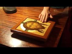 YouTube Religious Paintings, Religious Art, Painting Videos, Painting Techniques, Writing Icon, Byzantine Icons, Gold Work, Gold Gilding, Orthodox Icons